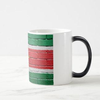 Flag of Suriname Magic Mug