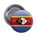 Flag of Swaziland 2 Inch Round Button