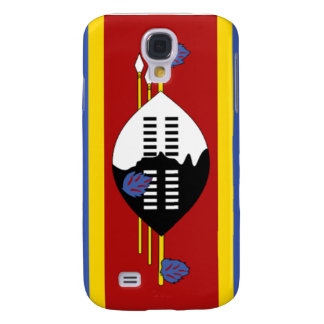Flag of Swaziland Galaxy S4 Cases