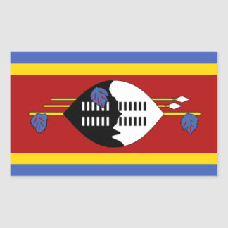 Flag of Swaziland Stickers