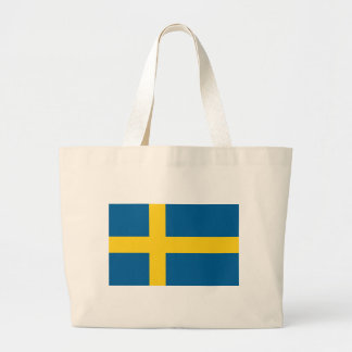 Flag of Sweden Canvas Bags