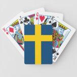 Flag of Sweden Bicycle Poker Deck