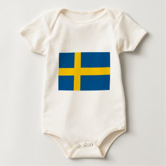 Flag of Sweden Bodysuit