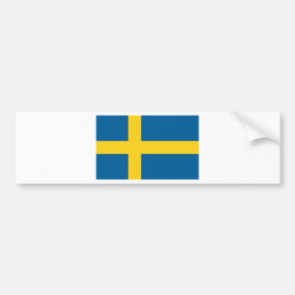 Flag of Sweden Bumper Sticker