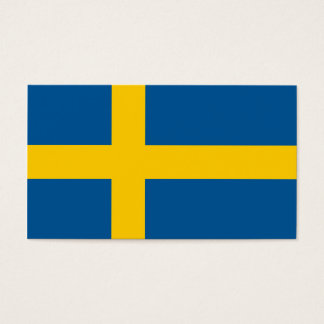 Flag of Sweden Business Cards