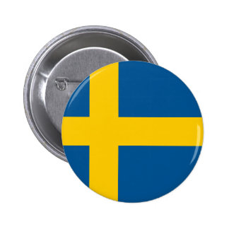 Flag of Sweden Buttons