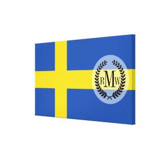 Flag of Sweden Canvas Print