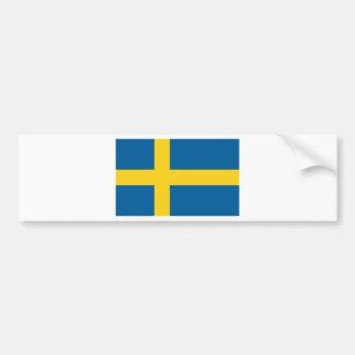 Flag of Sweden Car Bumper Sticker