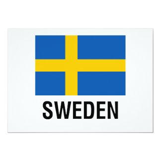 FLAG of SWEDEN Card