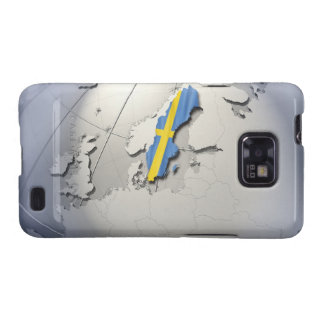 Flag of Sweden Samsung Galaxy S2 Cases