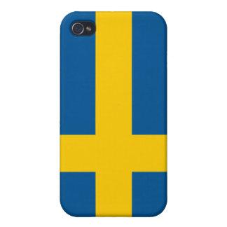 Flag of Sweden Case For iPhone 4