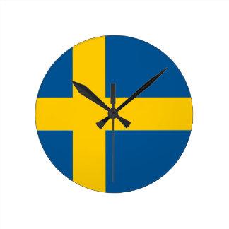 Flag of Sweden Clock