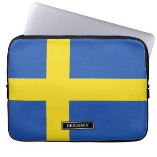 Flag of Sweden Computer Sleeve