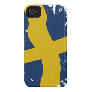 Flag of Sweden iPhone 4 Case-Mate Fundas