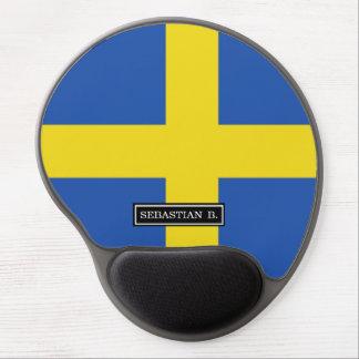 Flag of Sweden Gel Mouse Pad