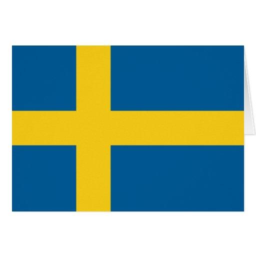Flag of Sweden Greeting Card