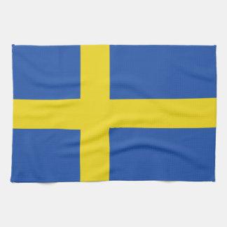 Flag of Sweden Hand Towel