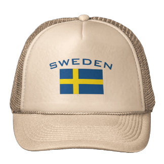 Flag of Sweden Trucker Hat