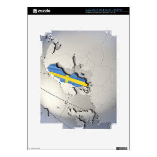 Flag of Sweden iPad 3 Decal