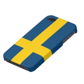 Flag of Sweden iPhone 4/4S Covers