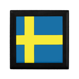 Flag of Sweden Jewelry Box