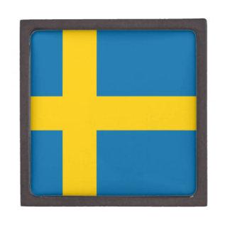 Flag of Sweden Keepsake Box