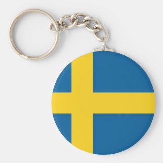 Flag of Sweden Key Chains