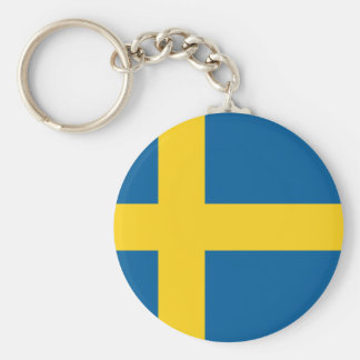 Flag of Sweden Keychain