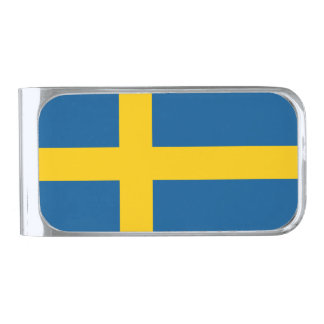 Flag of Sweden Money Clip