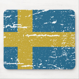 FLAG OF SWEDEN MOUSE PAD