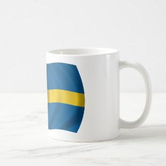 Flag of Sweden Classic White Coffee Mug