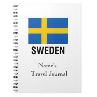 FLAG of SWEDEN Notebook