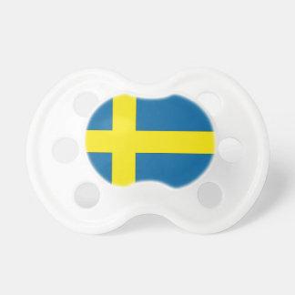 Flag of Sweden Pacifier