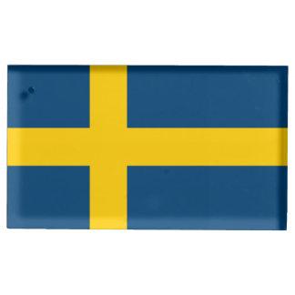 Flag of Sweden Place Card Holder