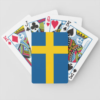 Flag of Sweden Playing Cards