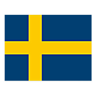 Flag of Sweden Postcard