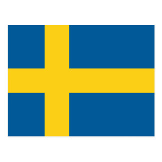 Flag of Sweden Post Cards
