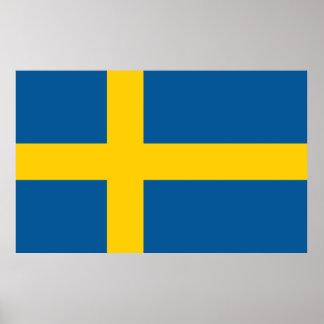 Flag of Sweden Poster