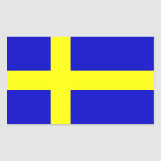 Flag of Sweden Rectangular Sticker