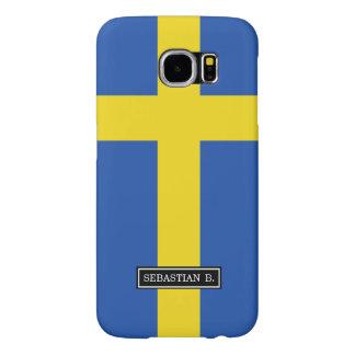 Flag of Sweden Samsung Galaxy S6 Case