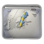 Flag of Sweden Sleeves For iPads