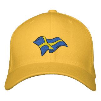 Flag of Sweden Sverige flag for Swedes Baseball Cap
