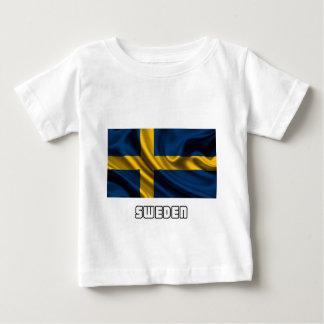 Flag of Sweden, Swedish Flag Baby T-Shirt