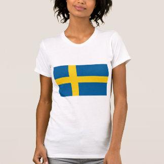 Flag of Sweden T Shirts