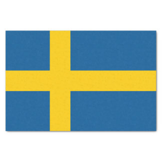 Flag of Sweden Tissue Paper