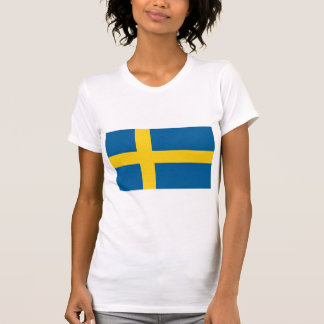 Flag of Sweden Tee Shirts