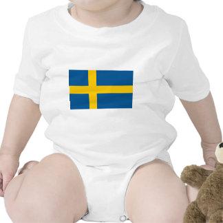 Flag of Sweden Romper