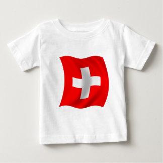 Flag of Switzerland Baby T-Shirt