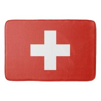 Flag of Switzerland Bath Mat