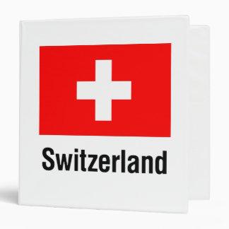 FLAG of SWITZERLAND Binder